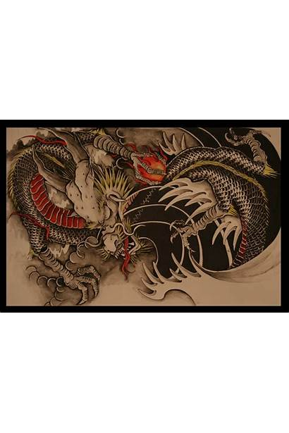 Dragon Chinese Tattoo Japanese Dragons Designs Wallpapers