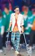 吳建豪拄枴杖戰《街舞2》 - 娛樂新聞 - 中國時報