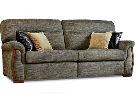 Large Settees by Rembrandt Large Fabric Settee Race Furniture Middlesbrough
