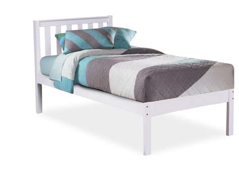 kid bed kado timber kids bed trundle optional