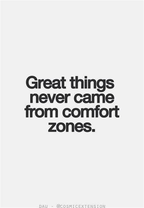 great     comfort zones ben francia