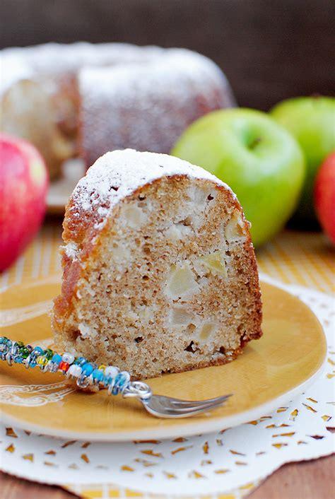 fresh apple cake iowa girl eats