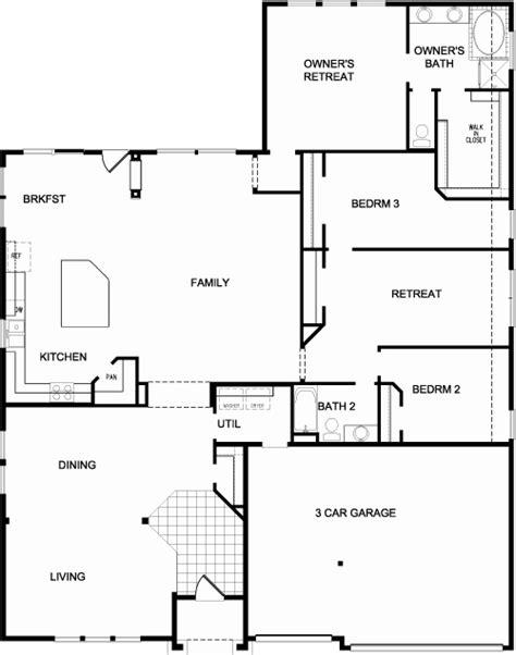 david weekley homes  txopen floorplan house design house plans floor plans