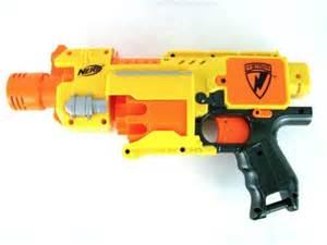 Yellow Nerf Gun Target
