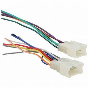 Metra 701761 Radio Wiring Harness For Toyota 87up Power 4