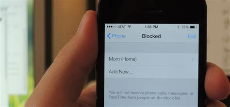 how to block a number on an iphone how to block any caller s phone number on your