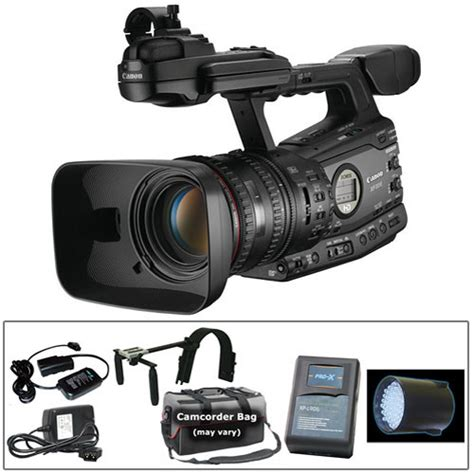 Canon Xf305 Hd Camcorder Switronix Support Kit B&h Photo Video