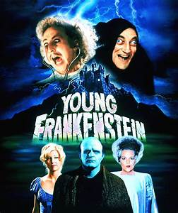 MOVIE POSTERS: YOUNG FRANKENSTEIN (1974)