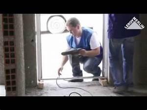 Pose Porte D Entrée : pose en tunnel d 39 une porte d 39 entr e youtube ~ Melissatoandfro.com Idées de Décoration