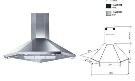 hotte cuisine silencieuse bosch hotte aspirante 80 cm ikea electroménager et univers électronique