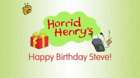 Happy Birthday Henry Images Happy Birthday Steve Horrid Henry Wiki Fandom Powered