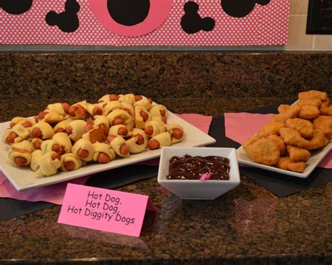 minnie mouse food ideas pixshark com images