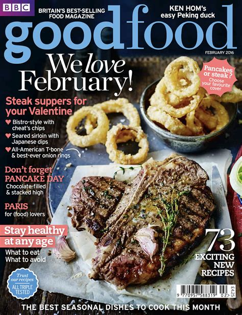 mag cuisine immediate pancakes or steak food magazine offers a choice of two seasonal covers for
