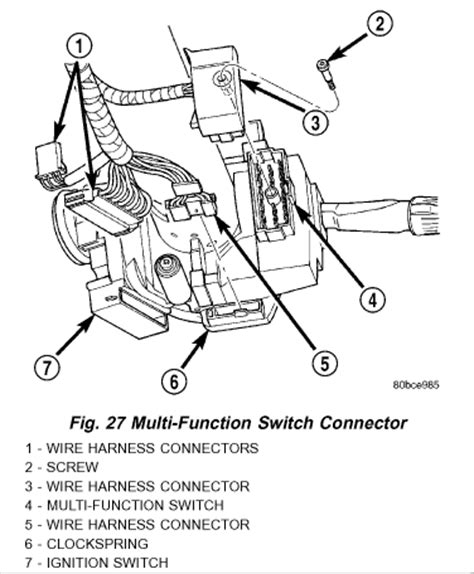 Picture Wiring Diagram 2000 Ram 2500 by What Could Cause The Rear Brake Lights Turn Signals And