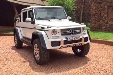 Mercedes-maybach G65 4x4² Landaulet Leaked Online Ahead Of