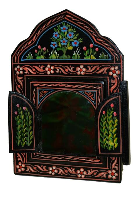 moroccan mirror wall marrakesh bathroom dresser wood
