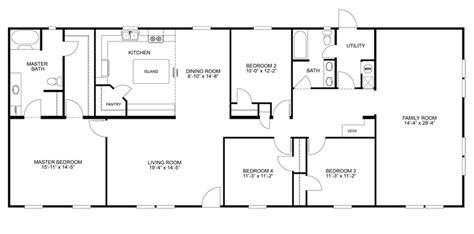 mobile home floor plans images  pinterest house floor plans mobile home  mobile