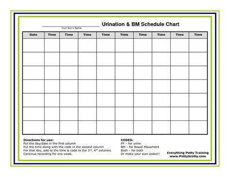 time chart template work schedule template calendar template 2016