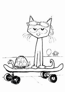 Pete The Cat Drawing At Getdrawingscom Free For