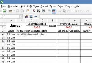 Haushaltsbuch Online Kostenlos : klassisches haushaltsbuch im excel format freeware kostenlos ~ Orissabook.com Haus und Dekorationen