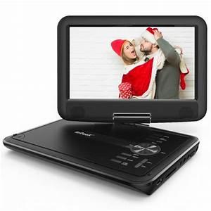 Lecteur Dvd Portable Enfant : iegeek lecteur dvd portable 11 5 avec cran rotatif 270 batterie rechargeable de 5 heures ~ Maxctalentgroup.com Avis de Voitures