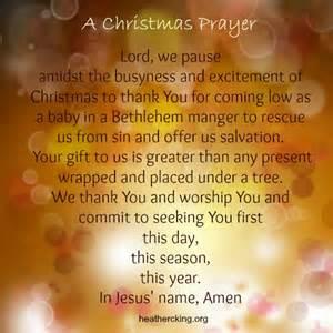 a gift for you a christmas prayer christmas carols and bible verses heather c king room