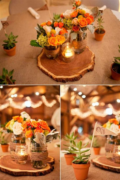 27 Romantic Ideas Of Fall Wedding Centerpieces For Your