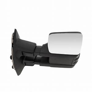 L R Power Heat Tow Mirrors Smoke Turn Signal For 99