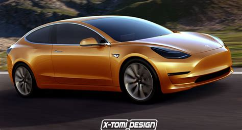 Tesla Model 3 Becomes Sportier In Virtual Coupe Version