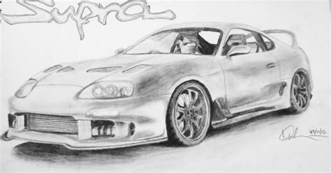 My Supra Drawing
