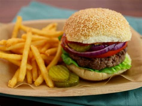 classic burgers recipes cooking channel recipe