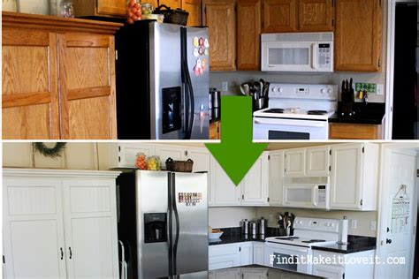 $150 Kitchen Cabinet Makeover  Find It, Make It, Love It