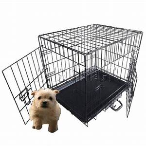 pet dog puppy cat training cage crate carrier 24quot small ebay With small dog training crate