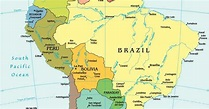 List of South American Countries   South American Capitals