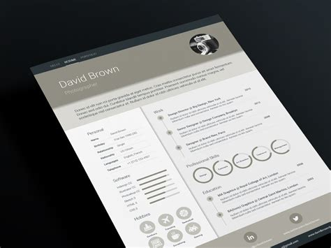 material resume template wwwikonome