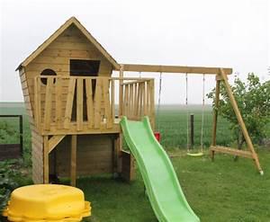 Fabriquer Un Toboggan : plan cabane en bois 15 cabanes construire soi m me ~ Mglfilm.com Idées de Décoration