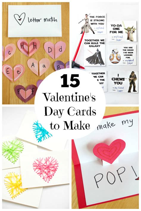 valentines day card kids 15 39 s day cards for kids make and takes