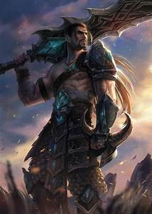 Tryndamere the Barbarian King by notagingermaan on ...