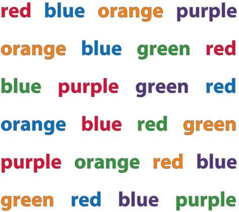 stroop color word test ridley stroop stroop j r 1935