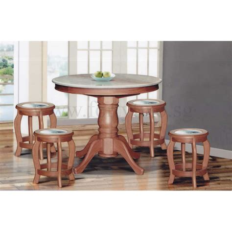 small marble dining table dn888 round marble dining table 4ft 6 stools marble
