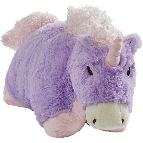 unicorn pillow pet pillow pet magical unicorn 18 inch large plush stuffed