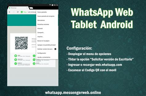 Conectarte A Whatsapp Web Desde Tablet Android