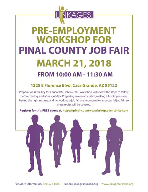 pre employment workshop for pinal county fair