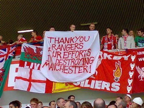 banner   week liverpool fans  rangers