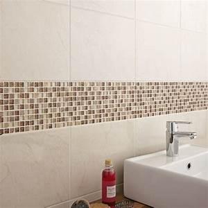 carrelage salle de bain mosaique beige With photo salle de bain mosaique