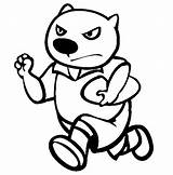 Wombat Coloring Pages Rugby Colouring Stew Template Animal Activities Animals Sheet sketch template