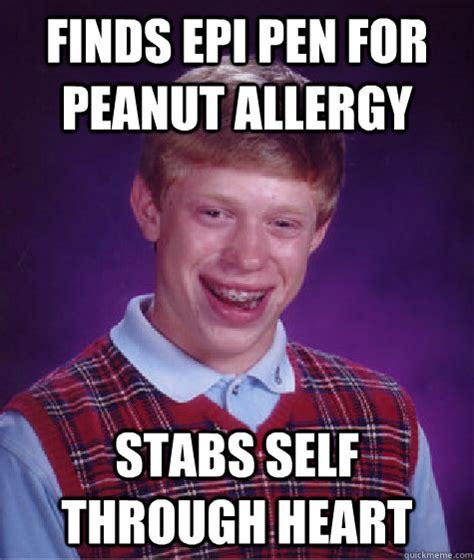 Allergy Memes - peanut allergy memes