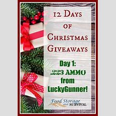 12 Days Of Christmas Giveaways Day 1lucky Gunner Ammo