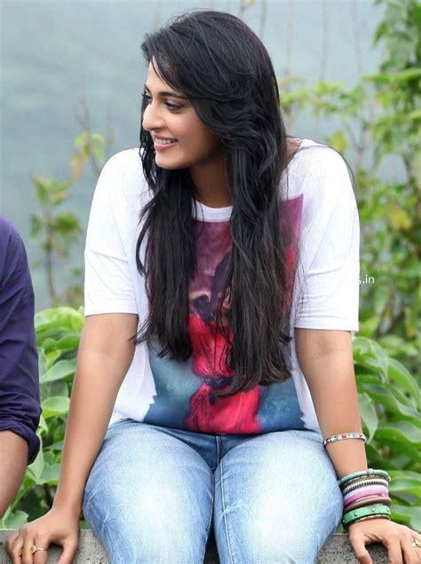 telugu actress hot jeans telugu movie actress anushka shetty in tight jeans