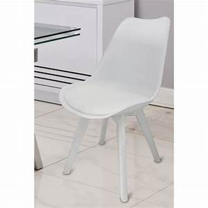 Chaise De Salle A Manger Blanche : chaises blanches salle manger le monde de l a ~ Voncanada.com Idées de Décoration